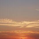 Sunset over Wembley Stadium 5 by Lindymrb