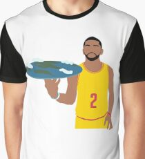 Kyrie Irving Flat Earth Graphic T-Shirt