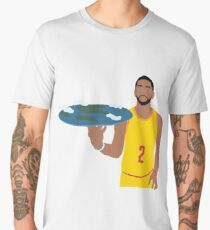 Kyrie Irving Flat Earth Men's Premium T-Shirt