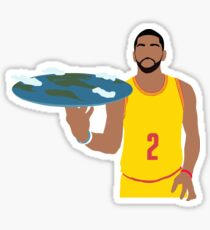 Kyrie Irving Flat Earth Sticker