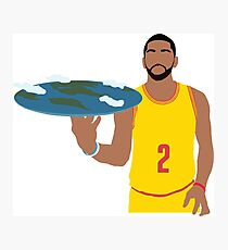 Kyrie Irving Flat Earth Photographic Print