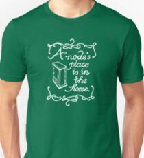 A Node's Place is in the Home (Dark Tee) Unisex T-Shirt