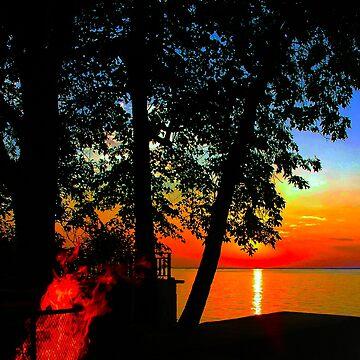 Evening Fire by ritesideup