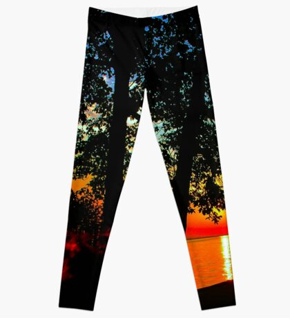 Evening Fire Leggings