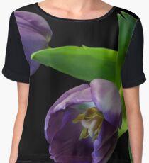 Tulips Women's Chiffon Top