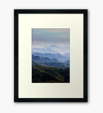 Late Afternoon on the Great Wall Framed Print