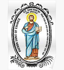 Saint Matthew Patron of Finance Poster