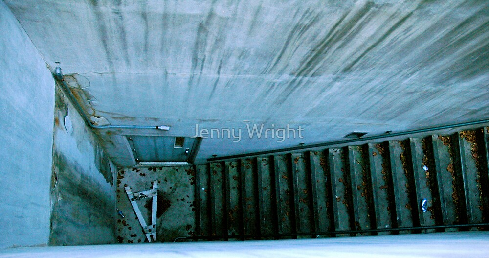 Homeless Stairwell by Jenny Wright