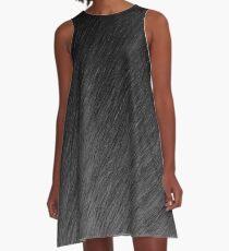 Grays Falling into Night A-Line Dress