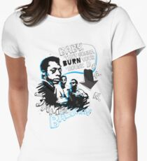 Go Tell it On The Mountain. James Baldwin Womens Fitted T-Shirt