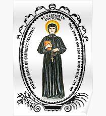 Saint Elizabeth Ann Seton Patron of Catholic Schools Poster
