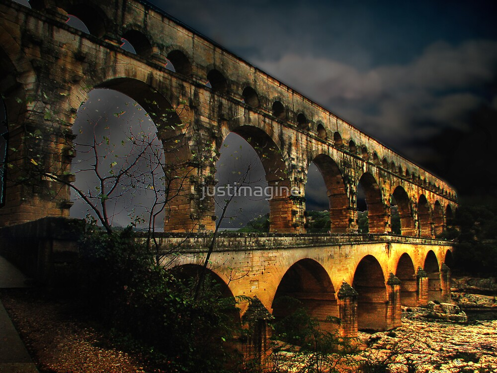 Pont Du Gard by justimagine