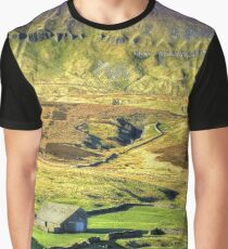 Pen-y-ghent North Yorkshire - 1 Graphic T-Shirt