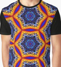 Psychedelic divorce tie-dye gasoline. Graphic T-Shirt