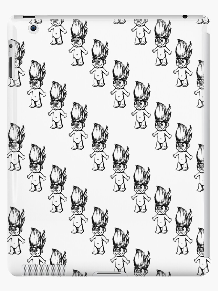 Troll Pattern (Diagonal) by Elle Tamata