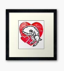 Guar Love Framed Print