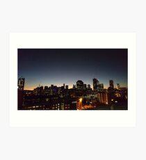 Brisbane at Night Art Print