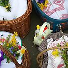Easter Baskets by Christine  Wilson