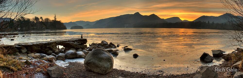 Sunset on Derwent Water by Rich Gale