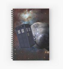 Time Flight 2 Spiral Notebook