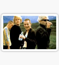 Trainspotting sticker Sticker