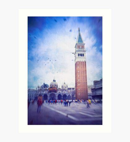 Piazza San Marco, Venice - Version 2 Art Print