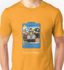 RIP squarcini Unisex T-Shirt