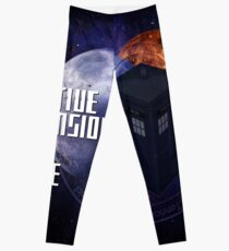 Time And Relative Dimension In Space Leggings