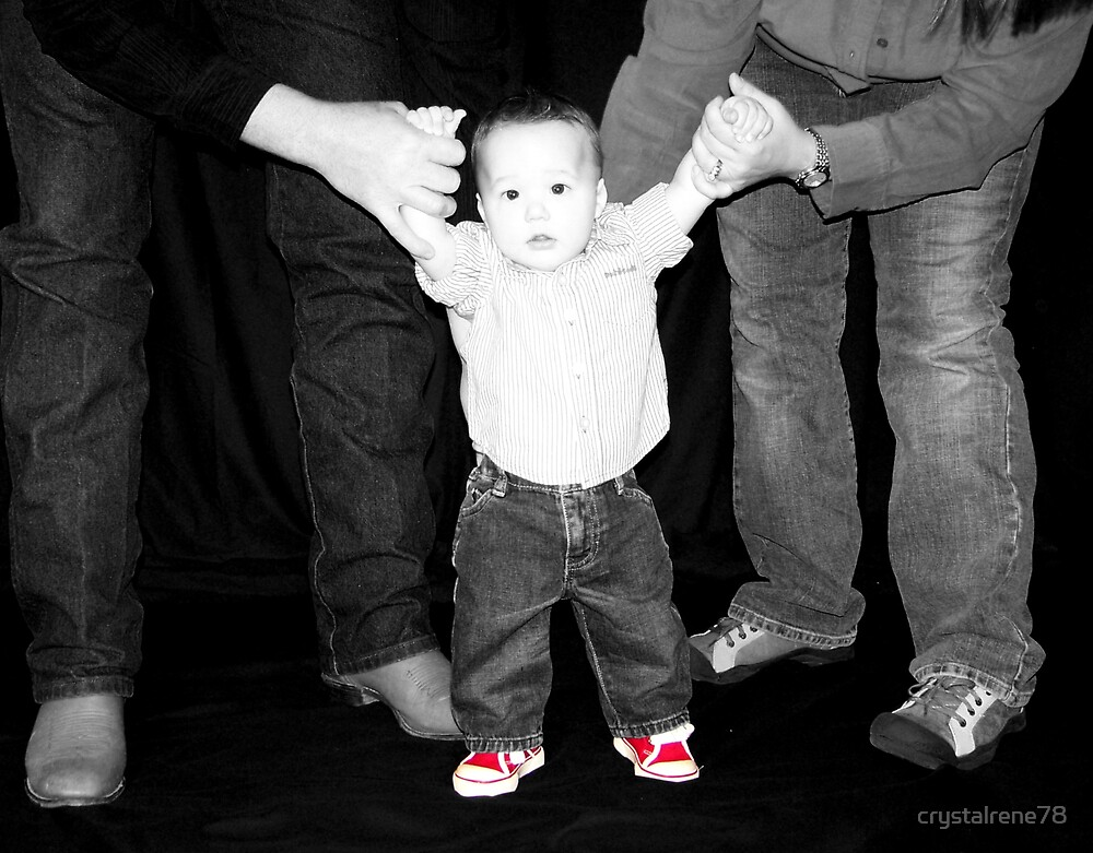 Riley & his red shoes by crystalrene78