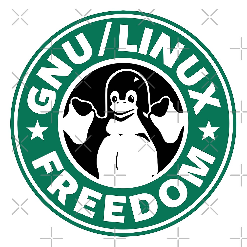 GNU Linux Freedom Green by orinemaster
