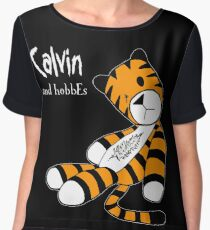 Calvin and Hobbes Women's Chiffon Top