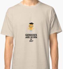 Geniuses are born in JULY Rai0a Classic T-Shirt