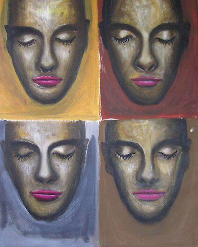 four faces by takadina