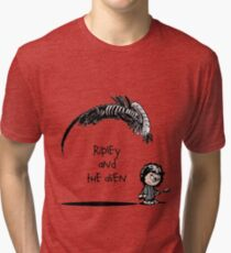 Ripley and the Alien Tri-blend T-Shirt