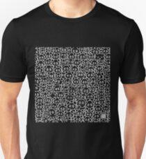 Finding Easter Eggs (invert version) Unisex T-Shirt