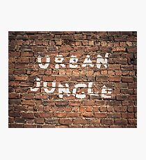 Urban Jungle Photographic Print