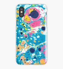 Ebru Marbling - Summer Vibes iPhone Case/Skin