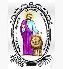 Saint Daniel Patron of Prophecy Poster