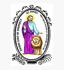 Saint Daniel Patron of Prophecy Photographic Print