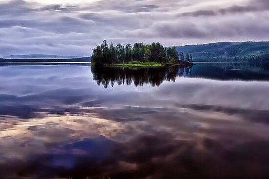 Lake of Two Rivers - Algonquin Provincial Park, Ontario by Kathy Weaver