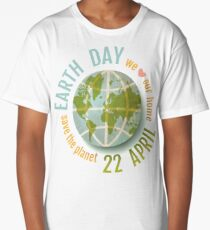 We love our planet. Long T-Shirt