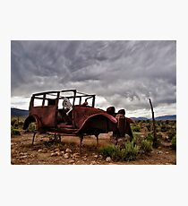 Lost In the Desert Photographic Print