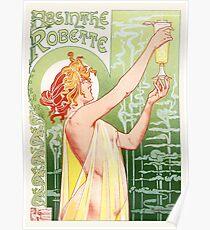 Absinthe Robette - Vintage Poster Poster