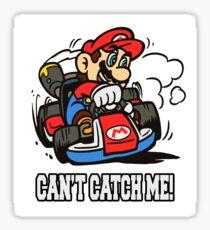 Mario Kart Can't Catch Me Sticker
