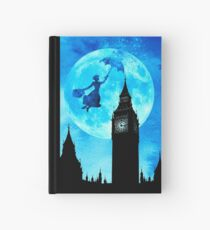 Magical Watercolor Night - Mary Poppins Hardcover Journal