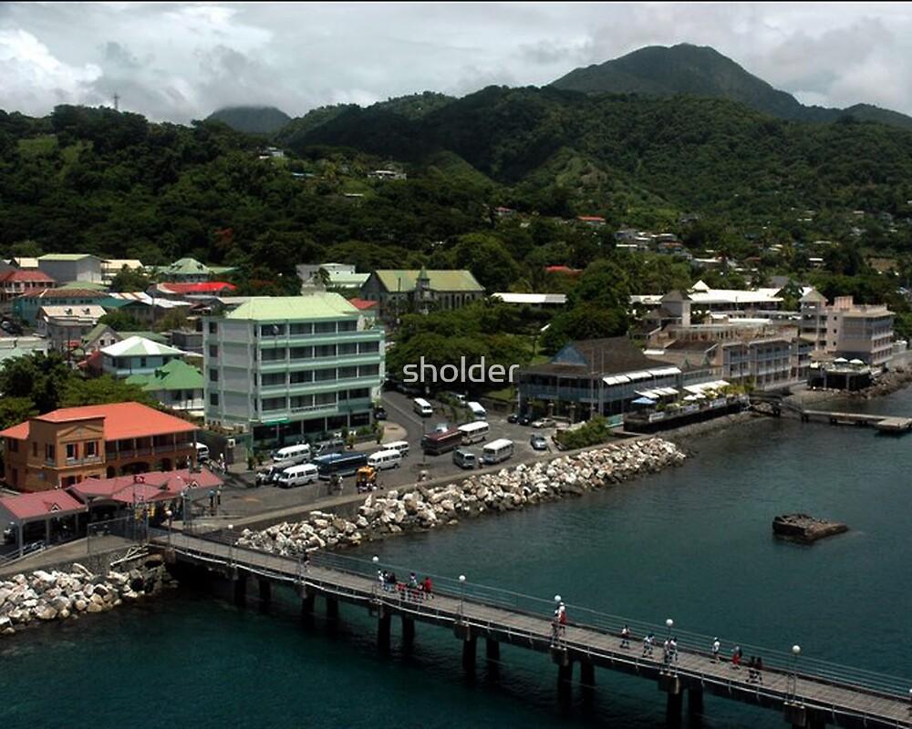Roseau, Dominica  by sholder