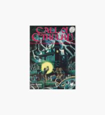 Call of Cthulhu 1st Edition Cover Art Board