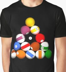 8-Ball Rack Graphic T-Shirt