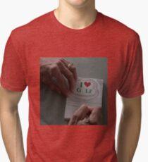 I LOVE GOLF - FARGO (COEN BROTHERS) Tri-blend T-Shirt