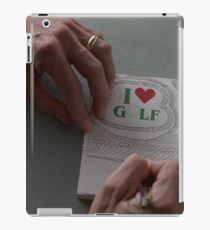 I LOVE GOLF - FARGO (COEN BROTHERS) iPad Case/Skin